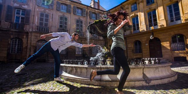 Aix En Provence Place Albertas Frigal