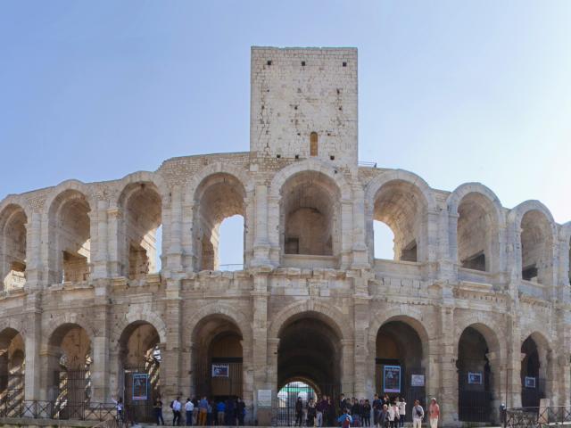 Arenes Arles Provence Vincentlucas