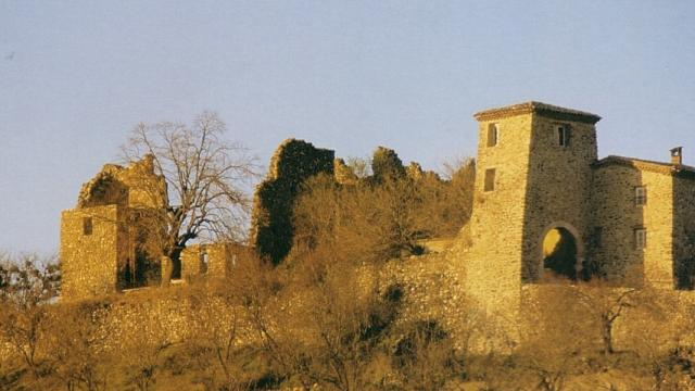 Chateau De Sigoyer Alpes Commune De Sigoyer