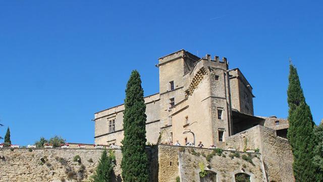 Chateau Lourmarin Provence Jfgalmiche