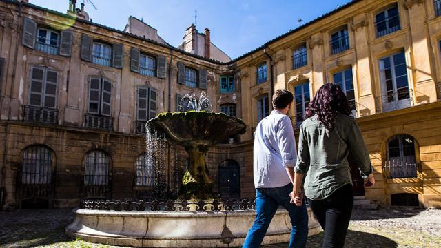 Fontaine Placealbertas Aix Frigal