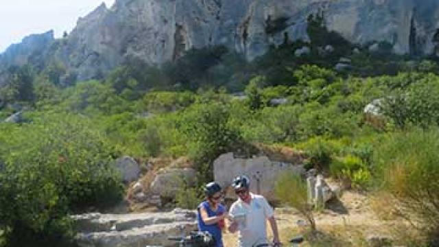Itineraire Mediterranee A Velo Bauxdeprovence Nmoreaudelacquis Vlp 1