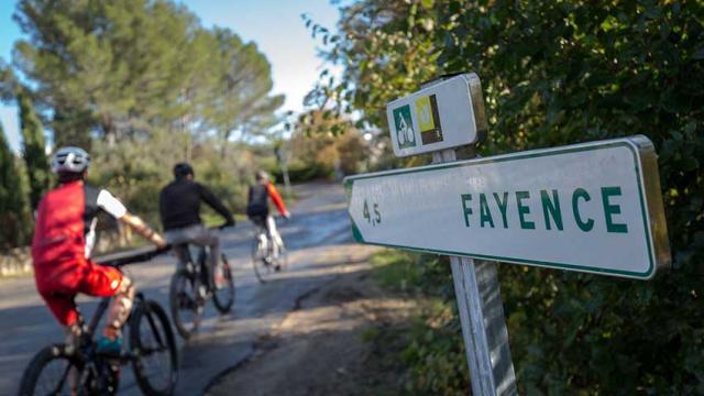 Itineraire Mediterranee A Velo Pays De Fayence Ngomez Eurovelo 1