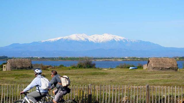 Itineraire Mediterrannee A Velo Canigo Etangcanet Otcanet En Roussillon Vlp 1