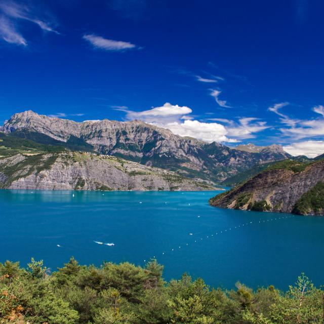 Lac Serre Poncon Amouton
