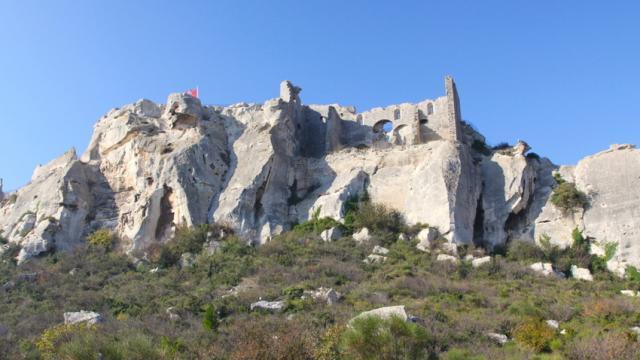 Les Baux De Provence C Marchand
