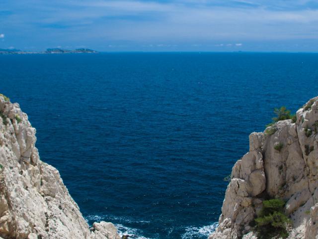 Crique sur la Côte Bleue