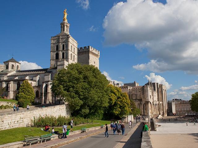 Palais Papes Avignon Ydefareins
