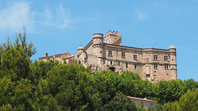 Provence Chateau Barroux Hans