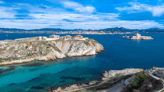 Provence Marseille Frioul Amouton