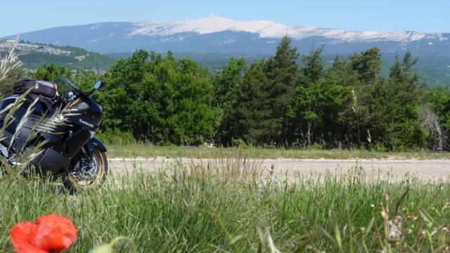 Randonnee Moto Mont Ventoux Provence P Chanin