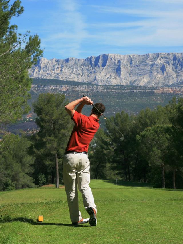 Sport Golf Sainte Victoire Provence Vlucas