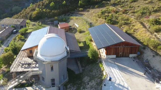 Vue Aerienne Obs Baronnies Provencales Alpes Paca C Observatoire Des Baronnies Provenales 1