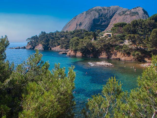 Calanque Mugel La Ciotat Provence Amouton