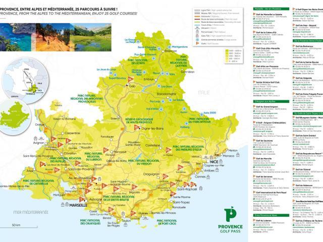 Carte Golf Pass Fr