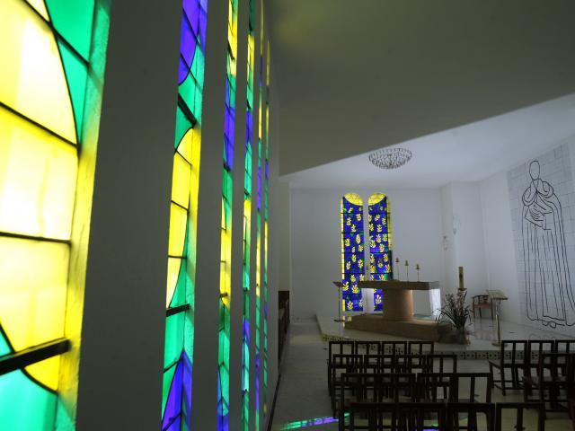 Vence, chapelle Matisse, intérieur