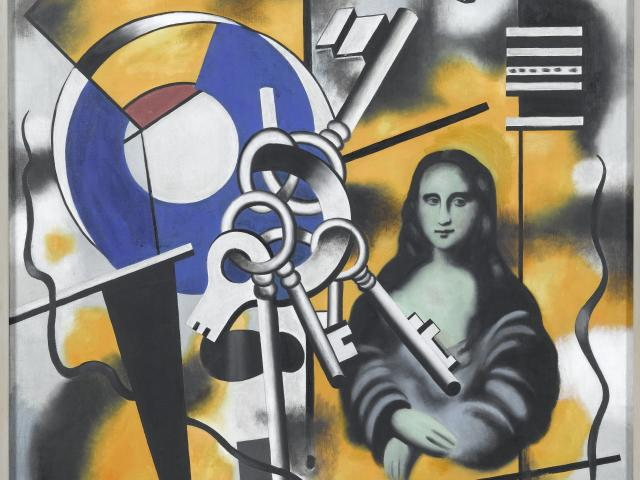 La Joconde Aux Cles Musee National Fernand Leger Glemarie
