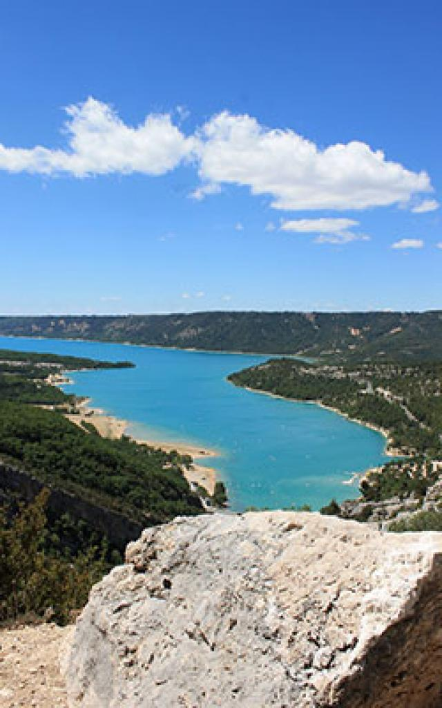 Lac Esparron Vue Cchillio
