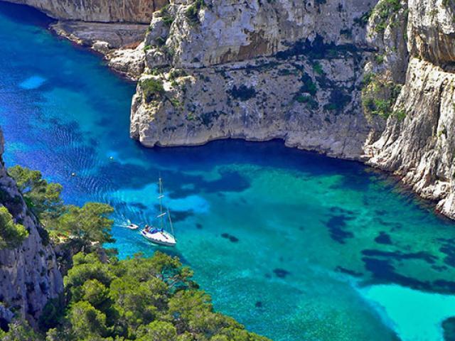 Provence Mer Calanque Envau Amouton