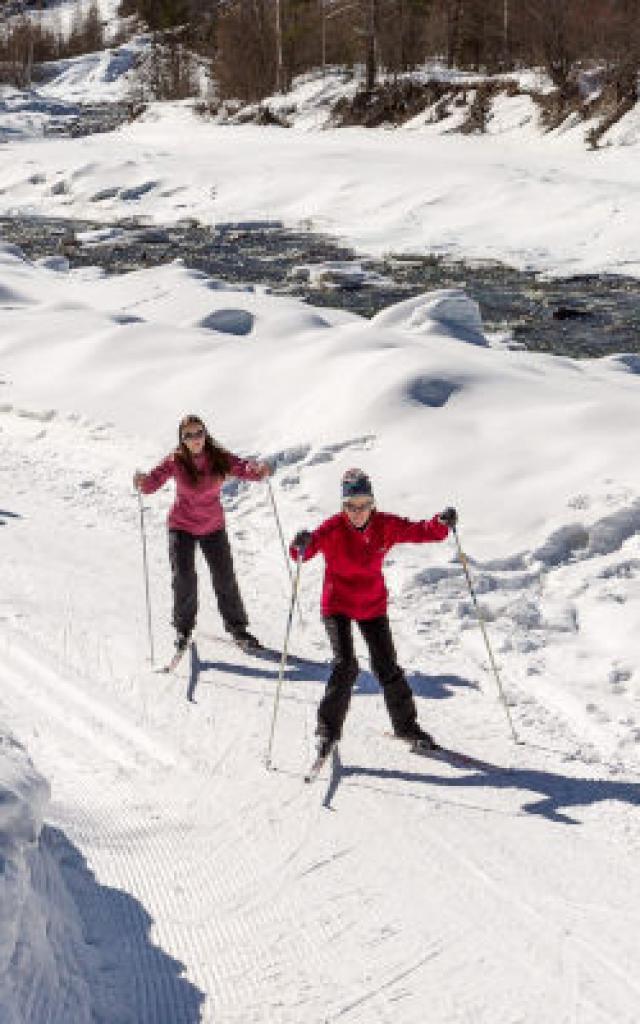 Saint-Paul-sur-Ubaye, Ski nordique, ski de fond