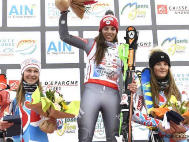 Ski Championne De France U21 Slalom Alpes Agence Zoom 1