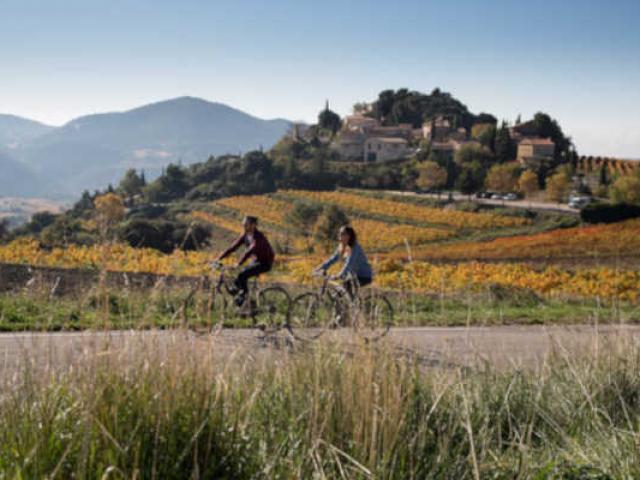 Slow Tourisme Velo Haut Vaucluse Paca Cchillio