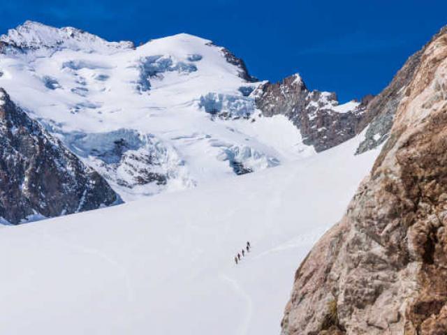 Sommet Barre Ecrins Alpes Rogiervan Rijn