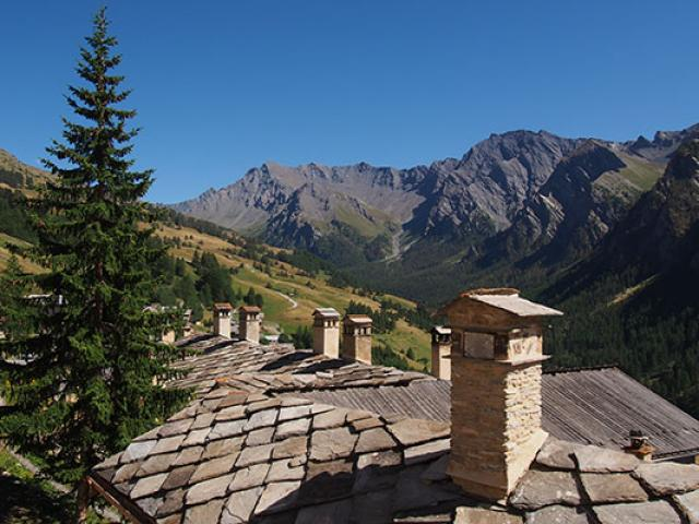 Village Saint Veran Alpes Paca F