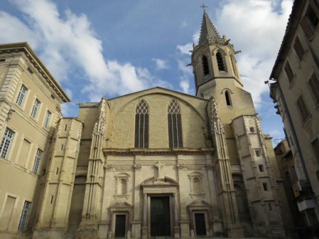 Cathedral Saint Siffrein, Carpentras, Provence, France