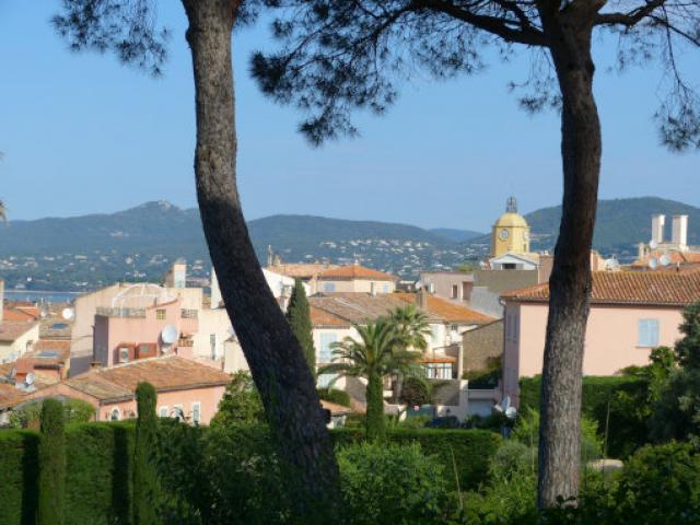 Vue Golfe Saint Tropez