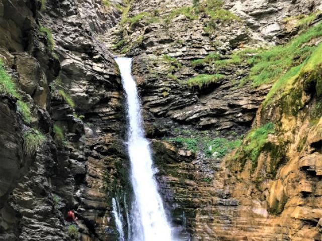 Cascade Colmars Alpes Asimon