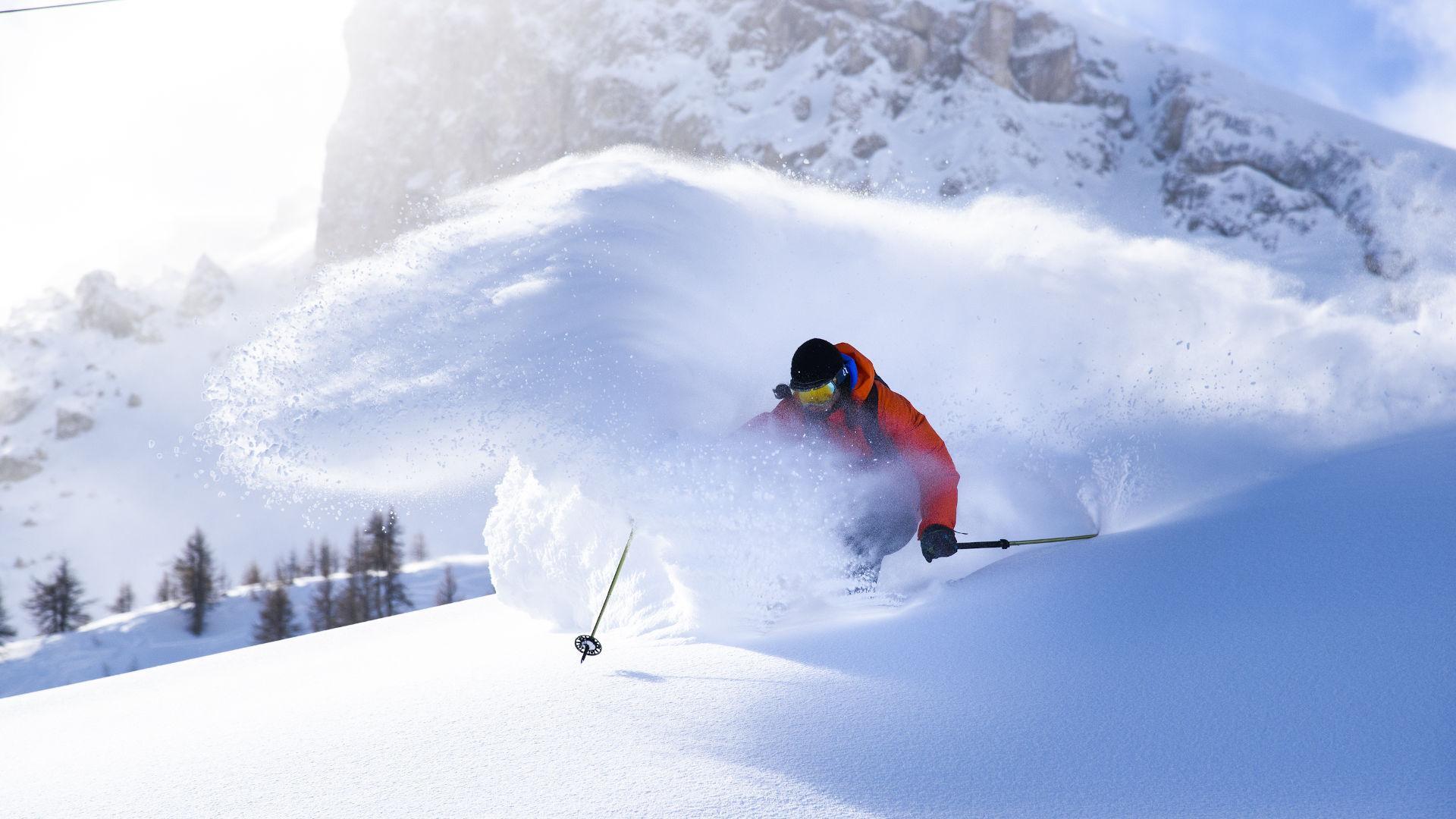 Descente Ski Station Serrechevalier Alpes Lleroy