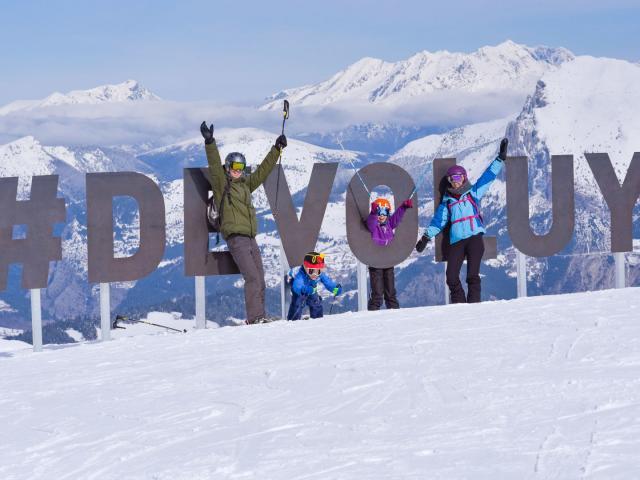 Domaine Skiable Famille Devoluy Alpes Arzurmichaelphotographie