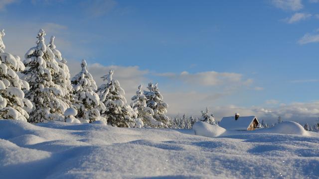 Neige Saint Paul Sur Ubaye Alpes