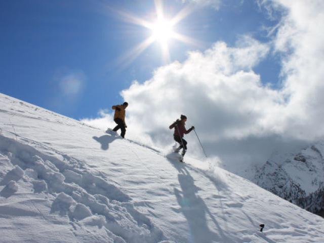 Raquettes Saintveran Alpes Cchillio