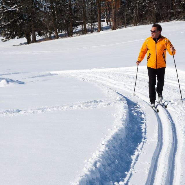 Ski Fond Peira Cava Alpes Bipixabay