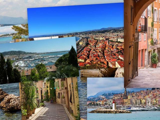 Villes Alpes Maritimes