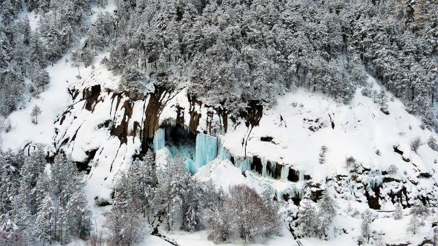 Alpes Vallees Enneigees Hiver
