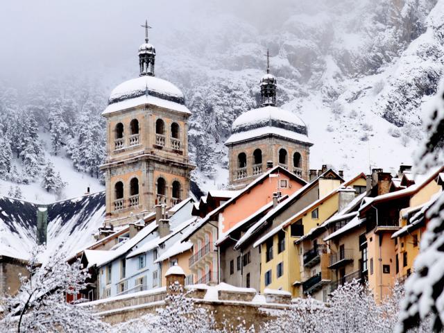 Briancon Neige Alpes Mfaurebrac