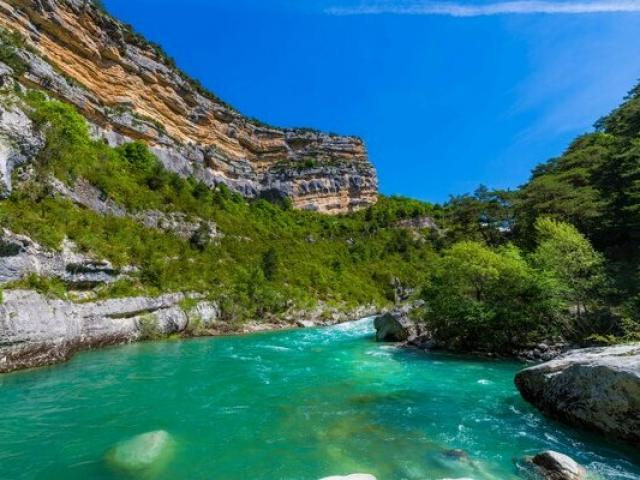 Gorges Verdon Provence Ad04 Tverneuil