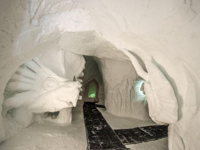 Grotte De Glace Vars Laforetblanche Alpes Pascaltournaire