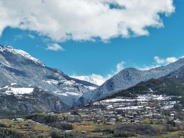 Mont Dauphin en hiver dans les Hautes-Alpes