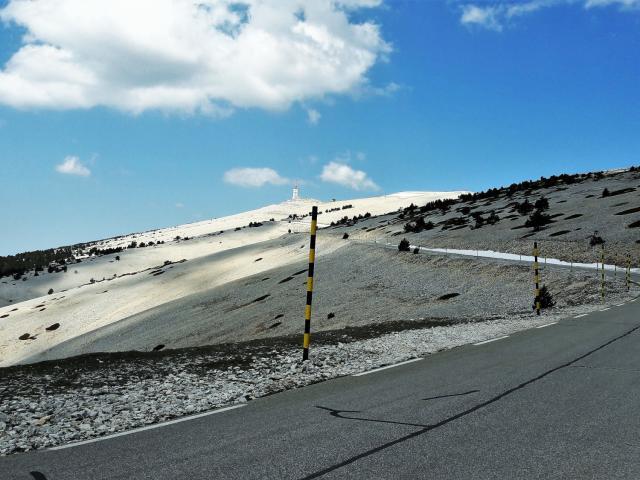 Route Mont Ventoux Vaucluse