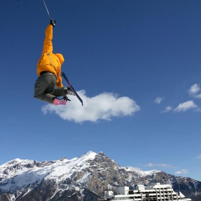 Station de ski Puy-Saint-Vincent dans les Alpes du Sud