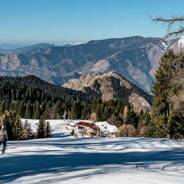 Turini Camp d'Argent Vallée Azuréenne en hiver dans les Alpes