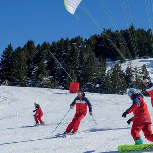 Vallée de la Blanche Serre-Ponçon en hiver