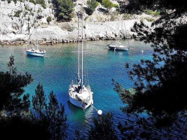 Balade vers les calanques de Port-Miou et Marseilleveyre de Marseille à Cassis