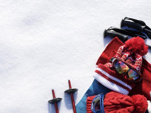 Equipement pour des vacances à la montagne