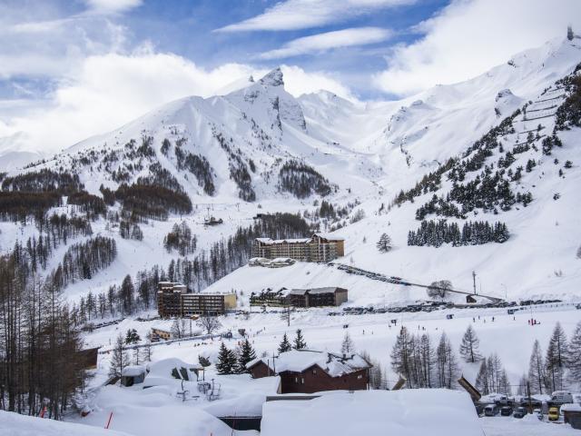 Val D'Allos-La Foux hébergement avec vue