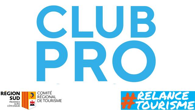Logo Club Pro - Relance tourisme